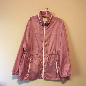 Old Navy water resistant windbreaker jacket hooded